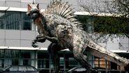 Primeval spinosaurus