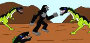 Kong vs mapusaurus by syfyman2xxx dczmjmp