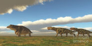 Permian-inostrancevia-hunts-keratocephalus-corey-ford