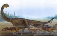 Argentinosaurus hunt