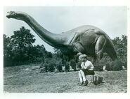 Jonas Studios 1964 World's Fair Apatosaurus