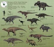Dinosaurs of the grand staircase escalante by paleoguy-d914b3u