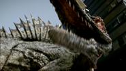 Roaring spinosaurus primeval