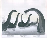Walt Disney's Fantasia brontosaurus photo