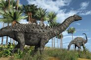 Depositphotos 8217066-Ampelosaurus-Dinosaurs