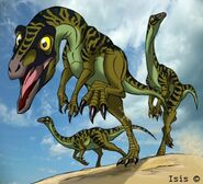 Dromiceiomimus by isismasshiro dc6k9o