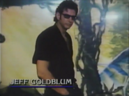 Jeff Goldblum in The Real Jurassic Park
