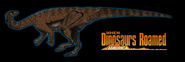 When dinosaurs roamed america anchisaurus by kingrexy dckou93