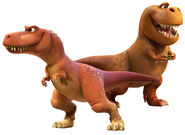 Nash and ramsey the good dinosaur