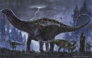 Brontosaurus is back by tuomaskoivurinne