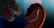 Dinosaur crossover We're Back Rex Vs Fantasia T-Rex 1
