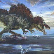Spinosaurus artwork