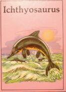 Ichthyosaurus Dinosaur Lib Series