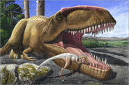 Sergey-krasovskiy-an-alvarezsaurid-bird-cleans-the-mouth-of-a-giganotosaurus-carolinii-dinosaur-296228