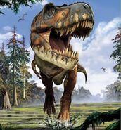 Tyrannosaurus by Franco Tempesta
