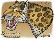 Xenosmilus hodsonae panting by leonca d119tix-fullview
