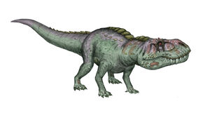 Prestosuchus chiniquensis by maniraptora