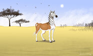 Quagga spirit stallion of the cimarron style by louisetheanimator dcqt5fk