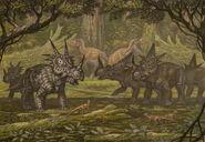Styracosaurus albertensis rubeosaurus ovatus by abelov2014-d9lfxl6