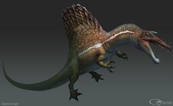 Rjpalmer spinosaurus 006 by arvalis d9yw7z8 by arvalis-daj1org
