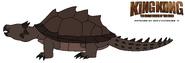 Kk tewotw skull island meiolania turtle by hewytoonmore dbuffdh