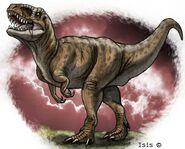 Tyrannosaurus by isismasshiro dfz6wo