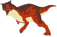 Mlp sauria island carnotaurus by ds59 dcnzlda