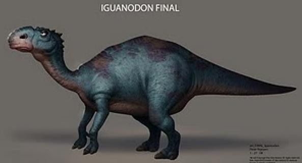 Image result for iguanodon ice age