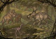 Pachyrhinosaurus achelousaurus dromiceiom by abelov2014-d9fm4kw