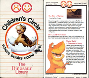 Dinosaur library VHS