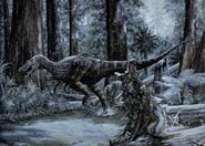 Baryonyx at woods