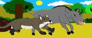 Miocene monsters redrawn by prehisjesus2018 ddgolh1-pre