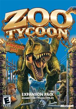 Zoo Tycoon - Dinosaur Digs Coverart