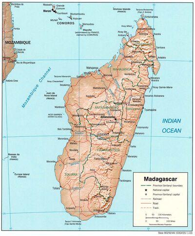 Madagascar rel 2003