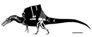 Spinosaurus FSAC-KK11888 GetAwayTrike