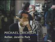 Michael Crichton in The Real Jurassic Park