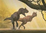 Carnotaurus raul martin