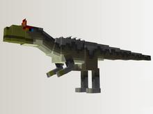Cryolophosaurus PaleoCraft