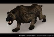 Xenosmilus by christopher252 d5z4fs5