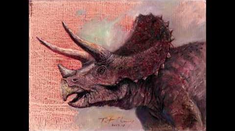 Jurassic Park Triceratops