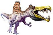 Spinosaurus art