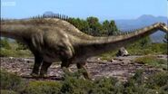 Dinosaur mating rituals Walking with Dinosaurs in HQ BBC