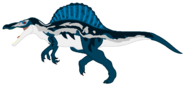 Mlp sauria island spinosaurus by ds59 dcncsqc