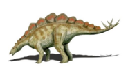 Restoration of Hesperosaurus mjosi