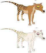 Thylacines by patchi1995 da6hfag