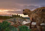 Stegosaurus Allosaurus FULL