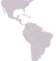220px-Crocodylus rhombifer Distribution.png