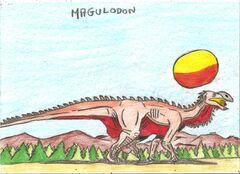 Magulodon by lipebrazilkombat-d6xc3nh