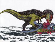 Dinovember day 9 dynamoterror by animatedatheist009 dcrlho6
