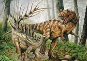 Kentrosaurus vs ceratosaurus